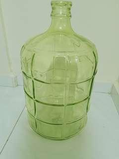 Huge glass jug