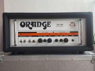 Orange TH100 twin Channel