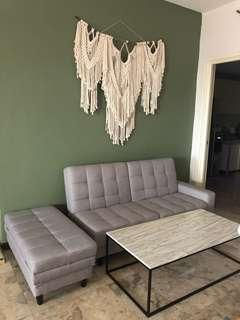 Sofabed for sale 1 year used