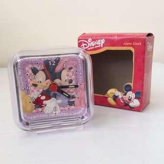 Mickey & Minnie 座枱 鬧鐘 Disney (全新)