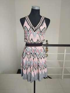 Warehouse tribal dress #CNY888