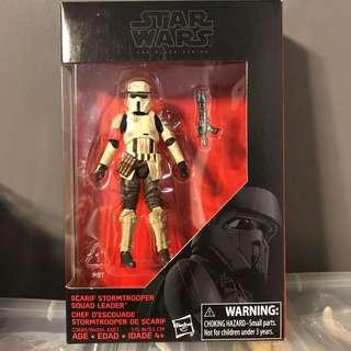 Star Wars Rogue One Black Series Scarif Stormtrooper Squad Leader