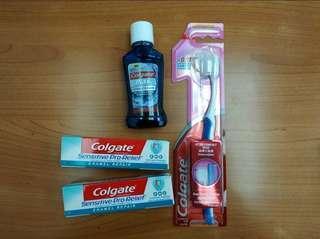 高露潔 Colgate 舒適達 牙齦適 旅行套裝(多款)