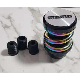 Momo coilover gear knob - Black base series
