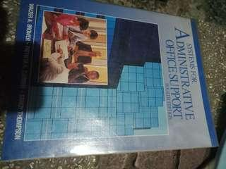 System. For administrative support book