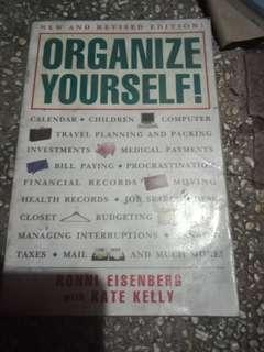 Organize your self book