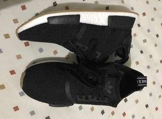 Adidas NMD_R1 Shoes in Core Black
