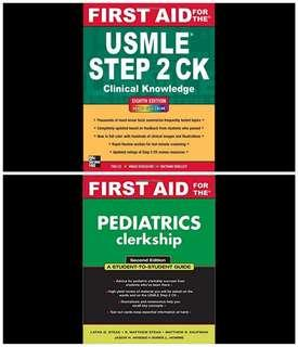Medical books for USMLE