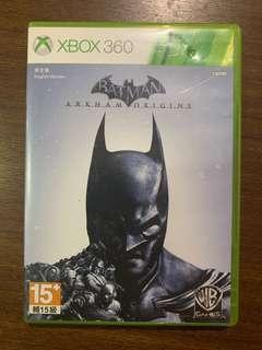 Batman Arkam Origins for Xbox 360