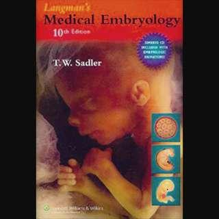 Langman's Medical Embryology Tenth Edition