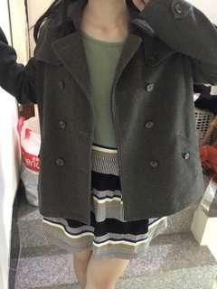 🚚 Lativ短版大衣外套