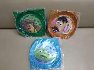 OK 派對Toy Story 反斗奇兵 膠碟   (全新)