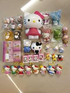 Various toys / figurines