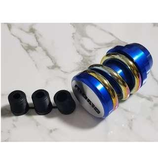 Momo coilover gear knob - Blue base series