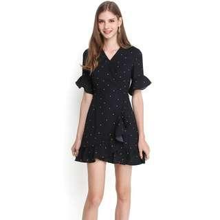 🚚 BNWT Lilypirates America Hearts Dress (Black Dots)