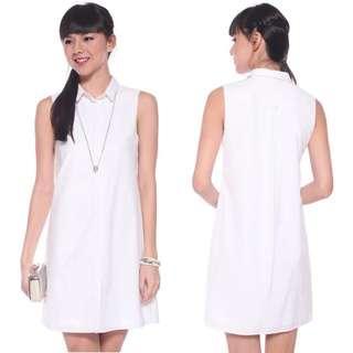 BNWT Love Bonito LB Verolyn Sleeveless Shirt Dress