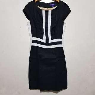 MEXX : Black & White Formal Dress