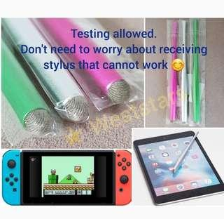 Stylus Pen - For Apple iPad iPhone Samsung, Nintendo Switch & all other brands digital touch screen