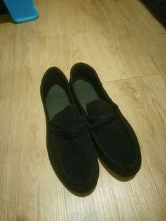 casual, loafer kasut