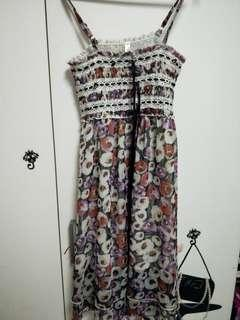 Brand New Floral Long Dress