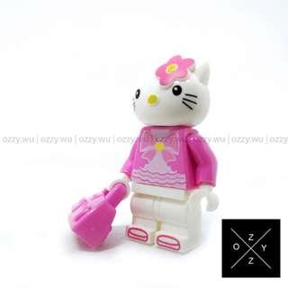 Lego Compatible Minifigures : Hello Kitty (Pink)