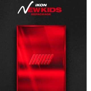iKON - NEW KIDS REPACKAGE Album [THE NEW KIDS]