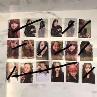 [WTS]Gfriend Time For Us Photocards