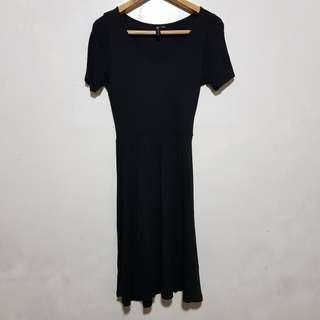 Cotton On : Long Black Dress
