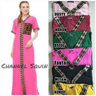 daster arab dress squin