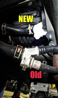 Replacement of HONDA FIT GE6 Fuel 3-Way Joint