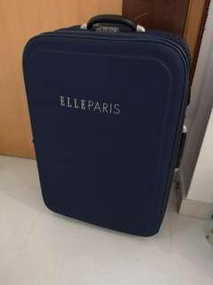 "ELLE Paris Large 30"" Wheeled Suitcase Luggage"