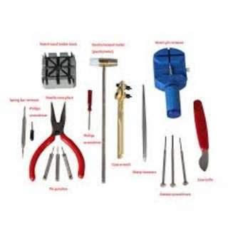 !6 piece Watch Tool Kit