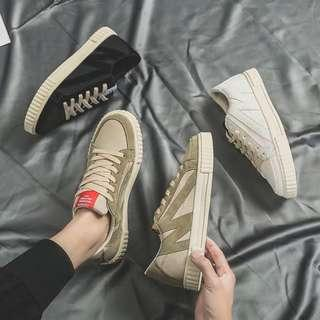 🏘URBAN🏘  Edito 'M' Graffiti Platform Sneakers Shoes