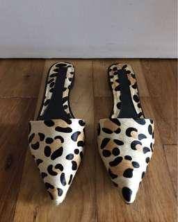 Animal Print Slip Ons Size 5