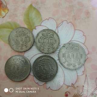 澳門硬幣全部55