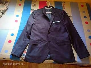 Mens coat Medium H&M brand slim fit