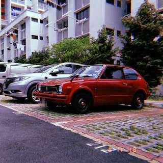 Classic car for rent