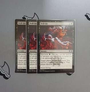 Magic The Gathering - Drill Bit Card