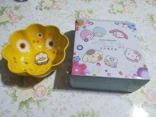 [割價] 7-11 AP鴨 •花雨•花語• 花形陶瓷碗