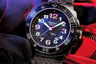 Alpina Sebring Racing Limited Edition Wrist Watch (Rolex Tudor Panerai Omega Ball Seiko Hamilton)
