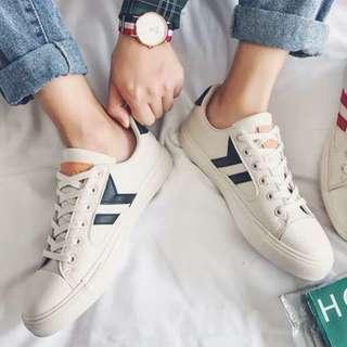 🏘URBAN🏘 Omnes Geometry Bi-Tone Platform Sneakers Shoes