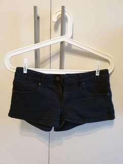 SUPER SALE! Forever 21 Black Faded-Style Shorts