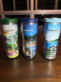 Starbucks tumblers - Korea