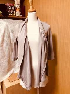 棉七分袖外套✨