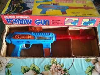 Vintage tommy gun