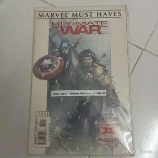 Comic Marvel Ultimate War Issue 1 #CNY888