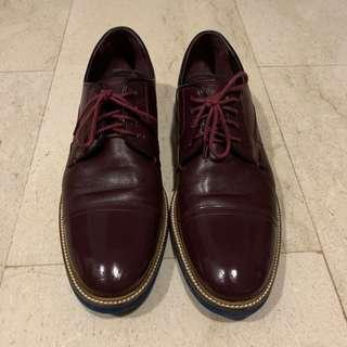Ted Baker formal leather Ox-blood shoes