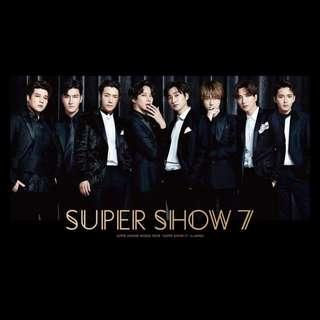 SUPER JUNIOR SS7 in JAPAN DVD & BLU-RAY