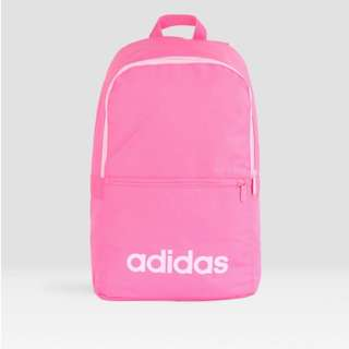 ADIDAS ESSENTIALS LINEAR CLASSIC DAILY BACKPACK -PINK cc421ee57baaf