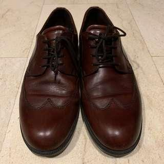 Ecco formal brown leather shoes